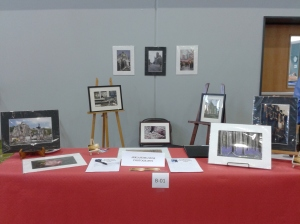 My Table at the 2014 Info Fair and Bazaar