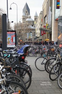 Bike Parking at Neumarkt.
