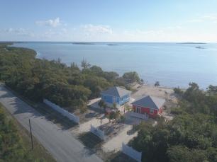 Roadside Aerial View of Sea View Villas by Jennifer McLaughlin