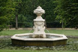 The fountain in the Ellipse.