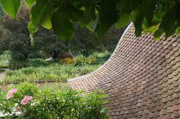 Glimpse of the Kitchen Gardens