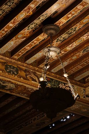 Gorgeous Ceiling in the Music Room