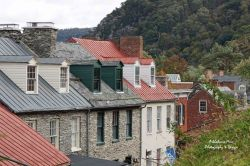 Rooftops of Harpers Ferry