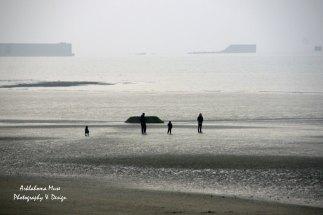 The beach walk