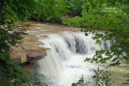 Small Falls Just Above Douglas Falls