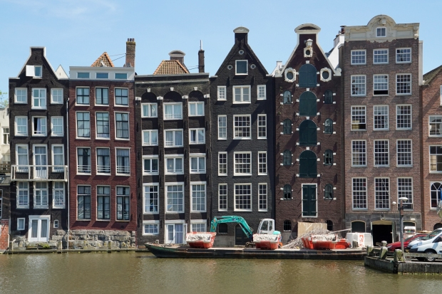 Amsterdam Waterfront Houses